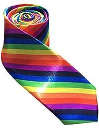 Skinny pour Cravate arc-en-ciel Taille unique