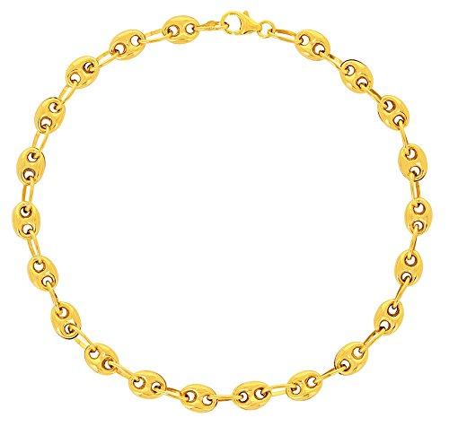 Avenuedubijou Armband Kaffeebohnen 750/1000 Gold