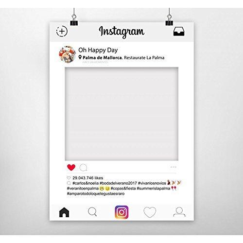 Photocall Instagram | 70x100 | Ventana Instagram | Marco Instagram ...