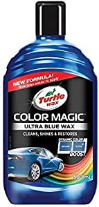 Turtle Wax 52709 Color Magic Polieren Und Lackieren 500ml Blau Auto
