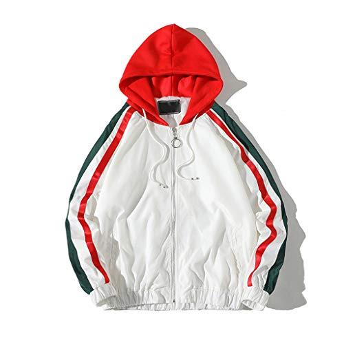 c05a6a371ad1 LIN Hommes Manteau Printemps Automne Slim Fit À Manches Longues De Mode  Hoodie Veste