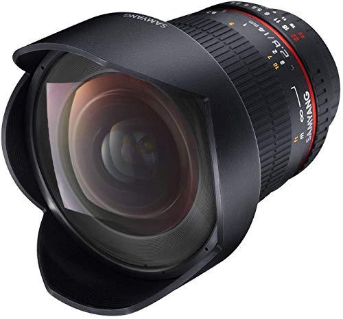 tiv DSLR Sony E manueller Fokus Fotoobjektiv, Weitwinkelobjektiv schwarz ()