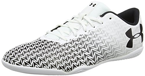 Under Armour Herren UA CF Force 3.0 in Fußballschuhe, Weiß (Weiß 100), 43 EU (8.5 UK)