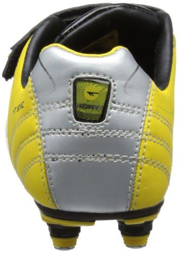 Hi-Tec - E.o.s. Sonic Si Jr, Scarpe da calcio con tacchetti Bambino Black/Yellow/Silver