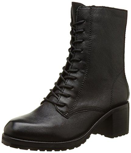 ALDO Women's Crowl Combat Boots, Black (Black Leather/97), 5.5 UK