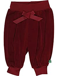 Fred's World by Green Cotton Baby Girls' Velvet Pants Trousers