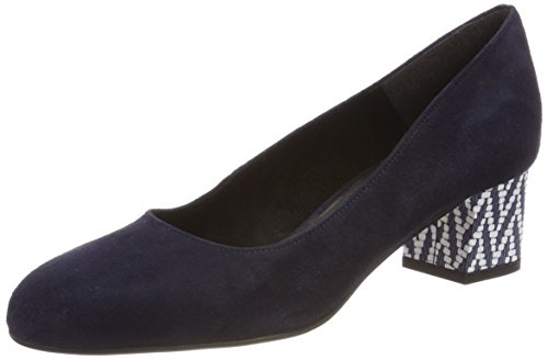 Tamaris Damen 22305 Pumps, Blau (Navy), 42 EU