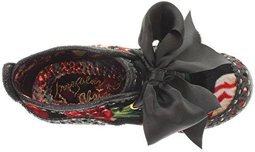 Irregular Choice, Stivali donna Nero (rosso/nero)