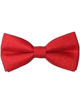 Corbata de lazo con longitud ajustable Bow Tie para Traje Formal Hombre en varios colores