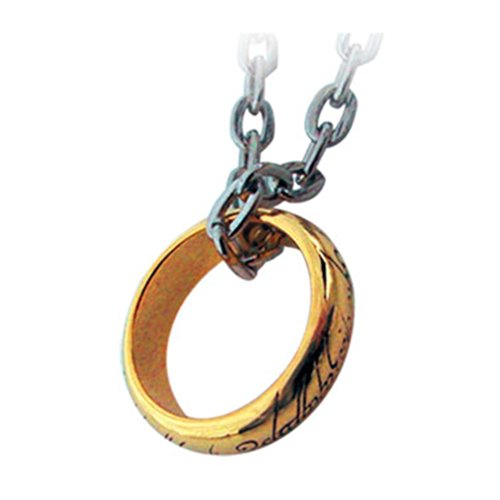 Lord Of The Rings - Collar anillo con cadena (Noble Collection 11739)