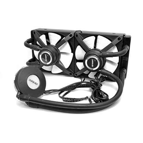 Antec H2O Kuhler 1250 Water Cooling Kit with 2xPWM Fan - Black