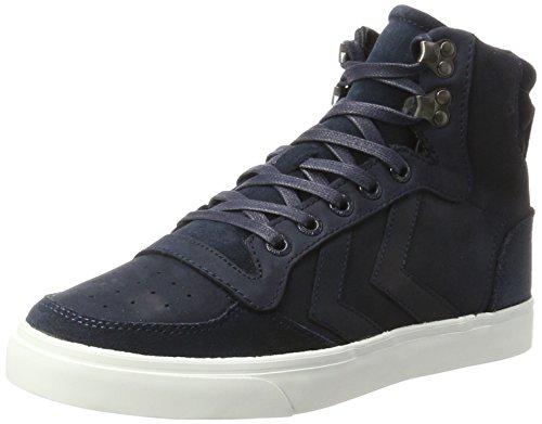 hummel Unisex-Erwachsene Stadil Winter Hohe Sneaker, Blau (Total Eclipse), 43 EU