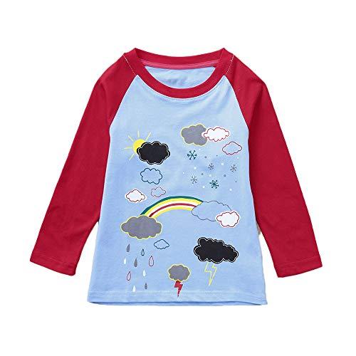 (Baby Junge Kleidung Outfit, Honestyi Kleinkind Kind Jungen Mädchen Kleidung Gestrickte Bunte Feste Pullover Strickjacke Mantel Tops (Kaffee,90))