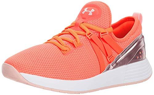 Under Armour Damen UA W Breathe Trainer Fitnessschuhe, Orange (After Burn/Flushed Pink), 36 EU