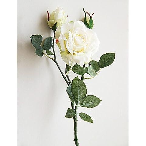 fiori artificiali, di alta qualità emulational rose e boccioli , pink