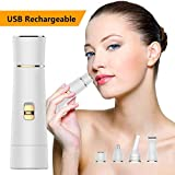 Facial Hair Remover for Women Rechargeable - LOVINA Professional Painless 4 in 1