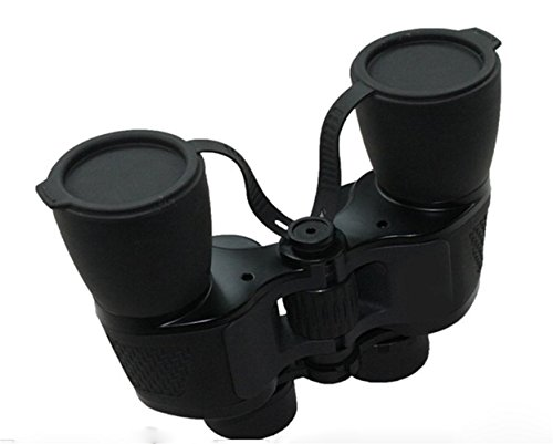 KHSKX Hohe schwarze Zweibettzimmer Röhre portable Teleskope 10 x 50 großen Blende seismischer (Große Blende Teleskop)