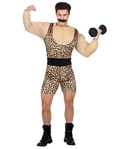 Horror-Shop Starker Mann Zirkus Kostüm - Faschingskostüm für Mottopartys (Zirkus Kostüm Männer)