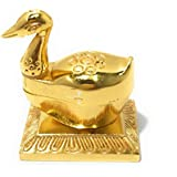 Dreamkraft Metal Single Duck Roli Chandan Chopda For Decor And Pooja Article