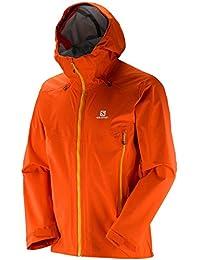 Salomon X Alp 3L Jkt M Chaqueta, Hombre, Naranja (Vivid Orange), L