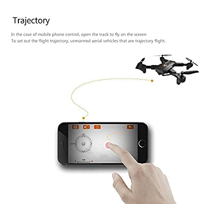 Fixed high drone xs809w folding high aerial shooting UAV HD WiFi real-time map transmission four-Axis aircraft remote control aircraft