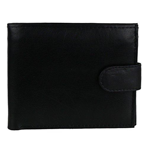 Oakridge, Herren-Geldbörse Schwarz schwarz