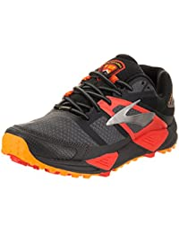 Brooks Cascadia 12 GTX, Black/Ebony/Cherry Tomato