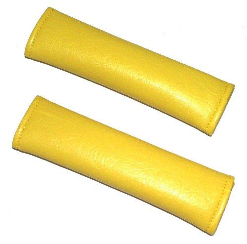 AERZETIX-Funda con Tapa de Piel sintética para cinturón, Color Amarillo