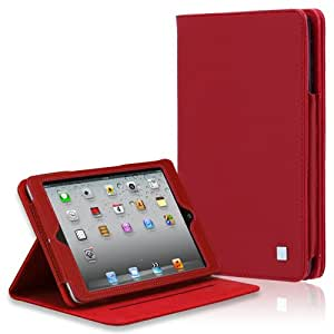 CaseCrown Ridge Standby Case (Red) for Apple iPad Mini 3 / Apple iPad Mini / iPad Mini with Retina Display
