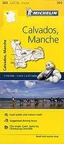 Calvados/Manche (Michelin Local Maps)