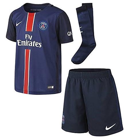 Nike PSG Home Lb Kit–Costume complet Paris Saint Germain 2015/2016Unisexe,