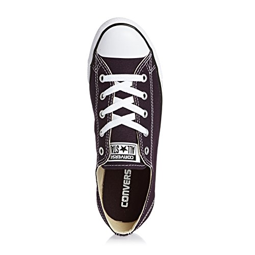 Converse Chucks Dainty 553371C All Star Toile Maroon Black Cherry Violet