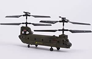 Syma S026G 3-Channel Micro Chinook RC Helicopter-New Gyro Edition