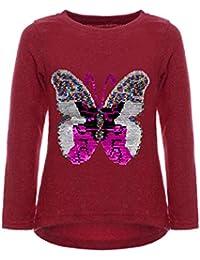 BEZLIT Mädchen Pullover Schmetterling Meliert 22854
