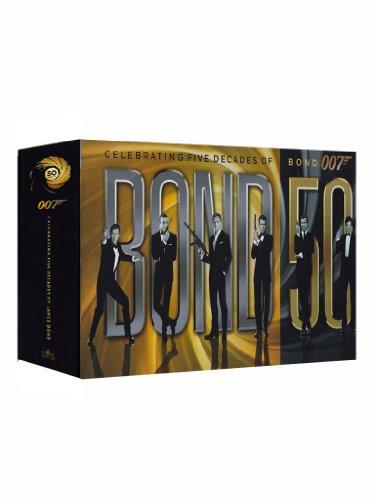 Bond 50 (Contiene 23 Film) (23 DVD)