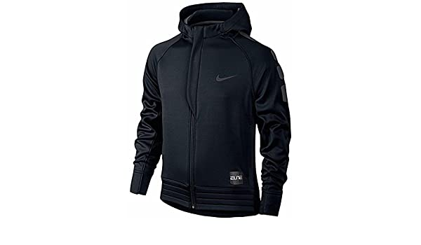 1eb35859 Nike Little Boys Elite Stripe Full-Zip Hoodie Basketball Jacket Black Sz 6:  Amazon.co.uk: Sports & Outdoors