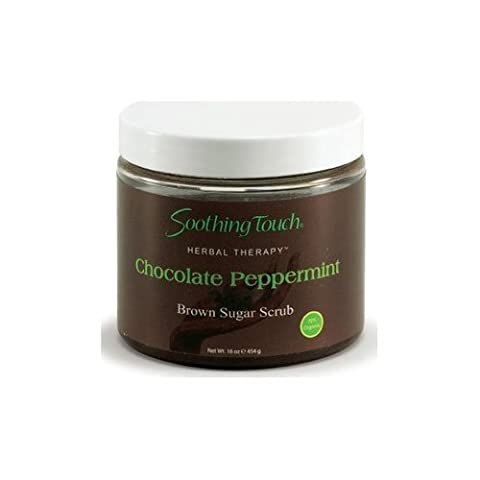 Soothing Touch Brown Sugar Scrub Chocolate Peppermint - 16 oz, 2 Pack by SOOTHING TOUCH