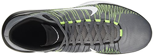Nike Zoom Ascention, Chaussures de Sport-Basketball Homme Gris (Cool Grey / White-Volt-Black)