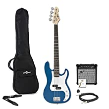 LA Bass Guitar Blue