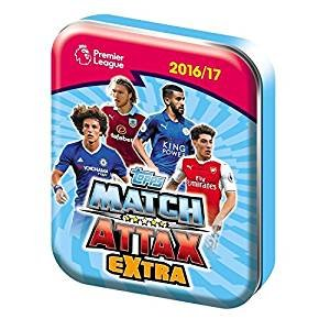Topps Match Attax Extra EPL 2016/2017 Trading Card Collector Mini Tin 16/17 (One Picked From