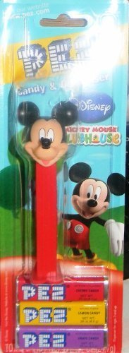 pez-mickey-mouse-clubhouse-edition-on-blister-card-with-3pack-refill-by-disney