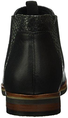 Caprice 25301, Bottes Chelsea Femme Noir (Black Nap Comb 31)
