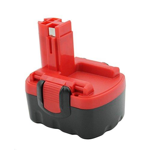KINSUN Replacement Power Tool Battery 14.4V 1.5Ah for Bosch Cordless Drill Impact Driver 2 607 335 263, 2 607 335 264, 2 607 335 276, 2 607 335 432, 2 607 335 465, 13614, GDR 14.4 V, GDS 14.4 V, GHO 14.4 V, PSB 14.4V, PSR 14.4VE