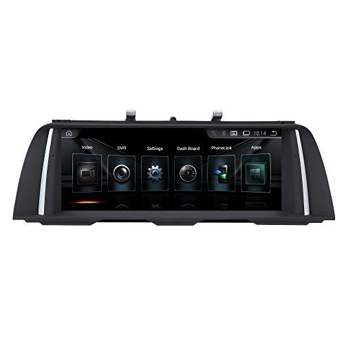 "TAFFIO® Android 8.1 HD Touchscreen GPS Navigation SD USB Multimedia Media Player für BMW F10 F11 mit CIC System *10.25\"" Display, 6-Core Prozessor 2GB RAM + 32GB ROM*"