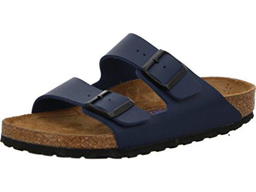 Sandales et claquettes de piscine et de plage Birkenstock Arizona pour femme - Bleu - bleu, 44.5 EU