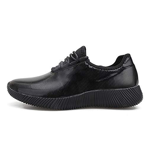 Quaan Damenmode Spiegel Serie Turnschuhe Schuhe Wild Reflektierende Lässige Laufschuhe