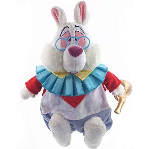 xuritaotao 38 cm Original Alice Im Wunderland Weiß Kaninchen Cartoon Nette Plüschtier Puppe Kinder Geburtstag