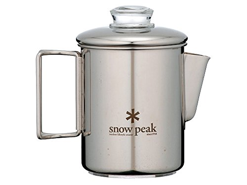 Snow Peak Ultra Heavy Duty Percolator by Snow Peak 41102x92ItL