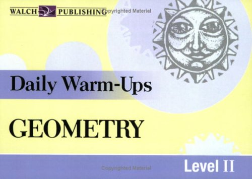 Daily Warm-Ups for Geometry (Daily Warm-Ups Math Series SER, Band 3)