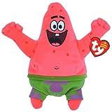 Ty UK Beanie Baby - Spongebob Squarepants Patrick Star Best Day Ever Soft Toy